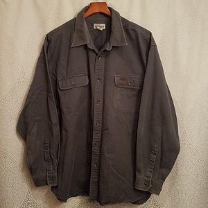 Carhartt Heavyweight Button Up Shirt